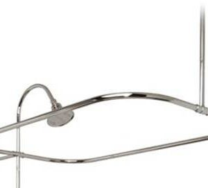 shown with shower riser, shower head, not incl.