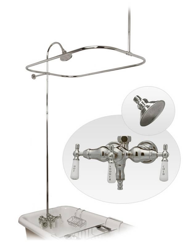 Claw Tub Shower Enclosure Kn034c Kanrep Norris