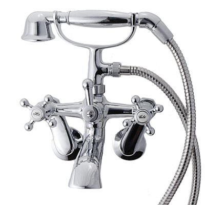 Claw Tub Faucet with Hand Sptray - KN641-167-0