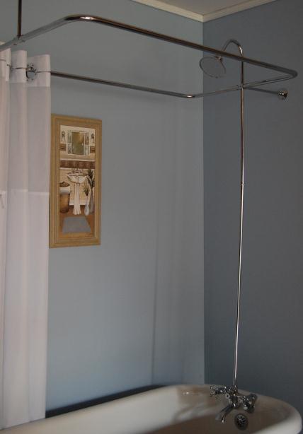 Claw Tub Shower Enclosure Set - KN165-0