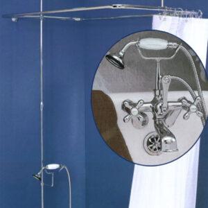 Deluxe shower enclosure set