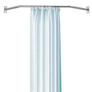 Shower curtain and rings not included