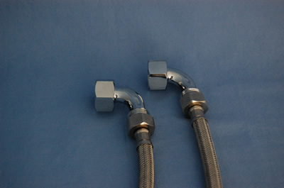 90 Degree Claw Tub Faucet Supply Elbows - KN643-0