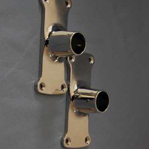 Rectangular Shower Rod Flanges - KN071C-0