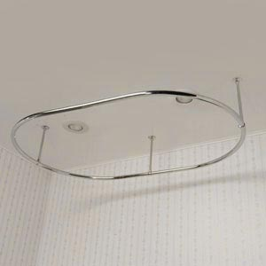 Oval Shower Curtain Frame - O36x60C-0