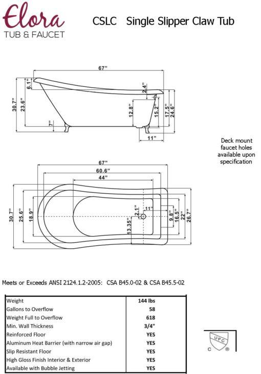 cslc67 specs