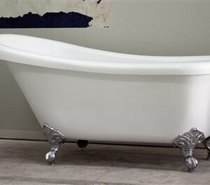 "67"" single slipper claw tub"