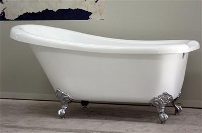 """67"""" single slipper claw tub"""
