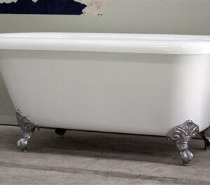 """59"""" classic claw tub"""
