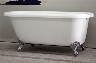 """65"""" classic claw tub"""