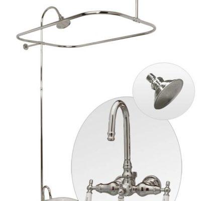 classic tub pkg with gooseneck faucet