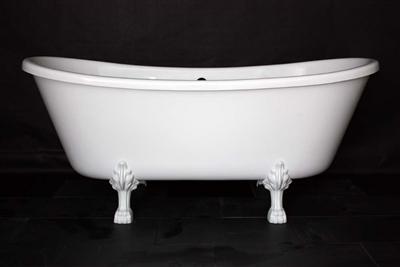 French Bateau claw tub
