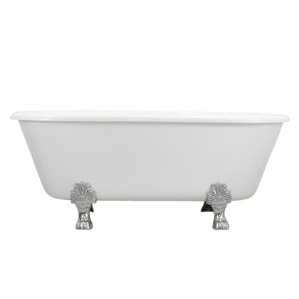 """67"""" double ended claw tub"""
